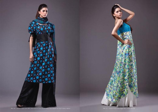 Latest Kayseria Lawn Suits for Spring 2011 - Kayseria Lawn Prints Collection For Summer