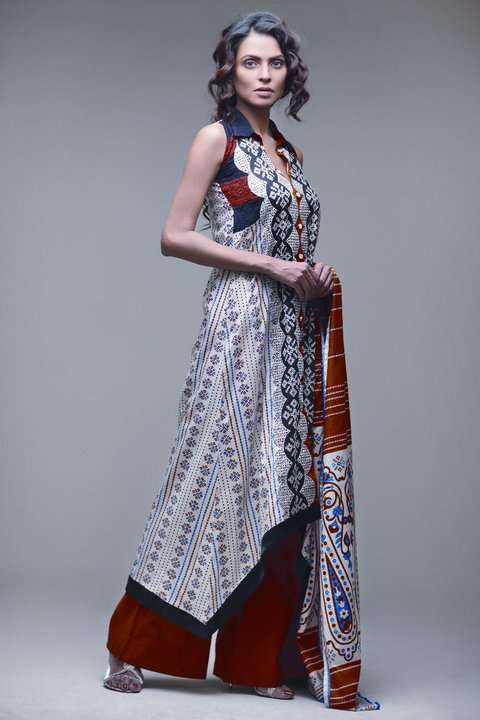 Latest Star Pearl Lawn Dresses Collection - Nida Yasir Star Pearl Lawn Collection For Summer