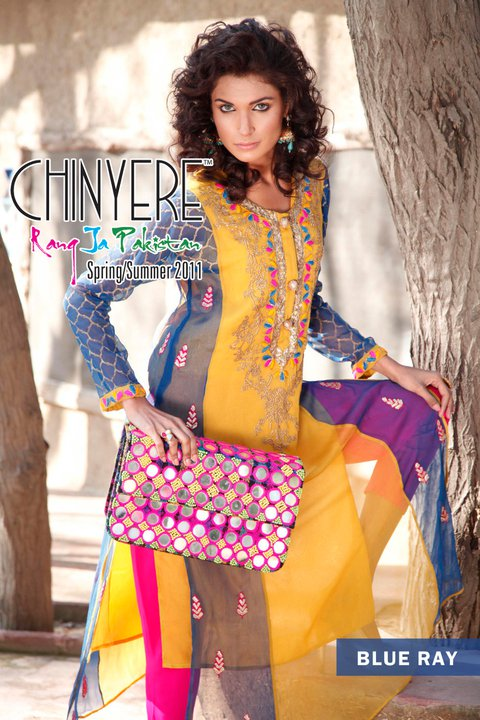 Latest Summer Lawn Collection by Chinyere - Chinyere Lawn Summer Collection 2011-12