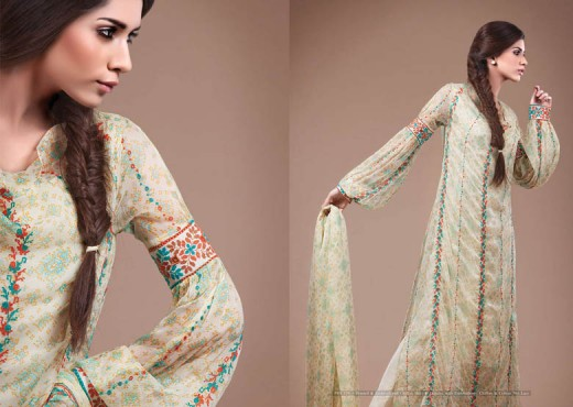 Latest kayseria Dresses Collection 2011 - Kayseria Lawn Prints Collection For Summer