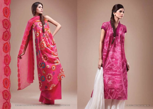 Latest kayseria Salwar Kameez for 2011 12 - Kayseria Lawn Prints Collection For Summer