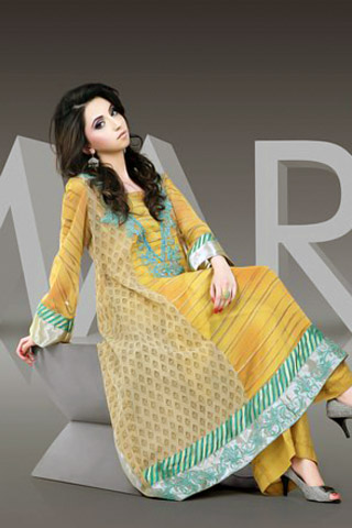 Maria Bilal Stitched Summer Lawn Collection 2011-12