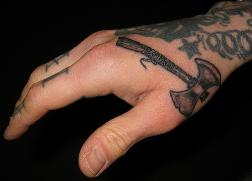 Men Tattoo Design Fashion for Hand 2011