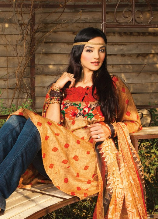 Nishat Complete Lawn Dresses 2011-12 (Part 2)
