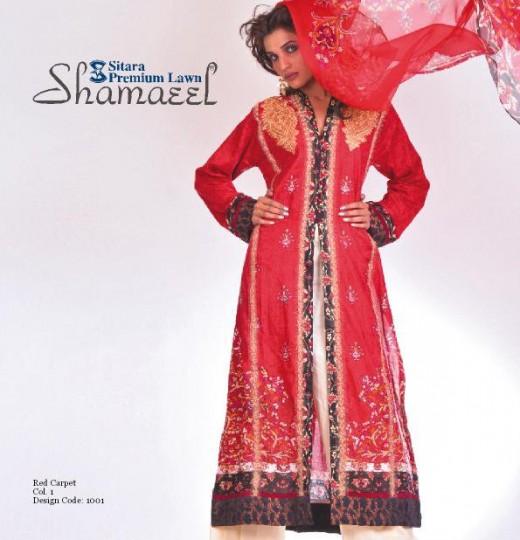 Shamaeel Ansari Sitara Premium Lawn 2011-12