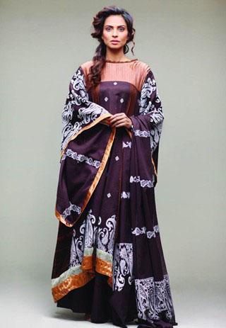 Star Pearl Lawn Dress Collection - Nida Yasir Star Pearl Lawn Collection For Summer