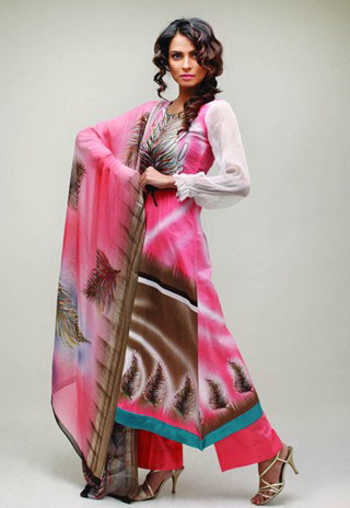 Star Pearl Lawn Salwar Kameez for 2011 - Nida Yasir Star Pearl Lawn Collection For Summer