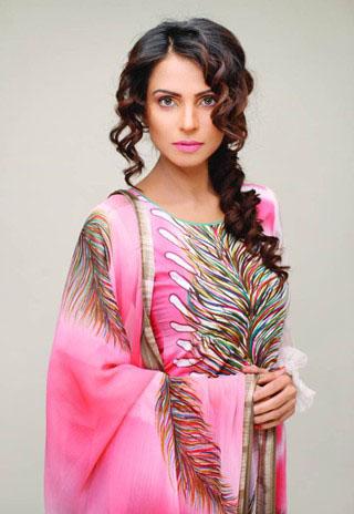 Star Pearl Lawn Salwar Kameez for Summer - Nida Yasir Star Pearl Lawn Collection For Summer