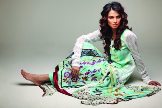 Star Pearl Lawn for Hot Summer - Nida Yasir Star Pearl Lawn Collection For Summer