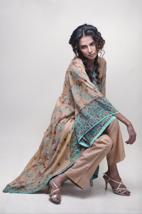 Star Pearl Lawn for Summer - Nida Yasir Star Pearl Lawn Collection For Summer