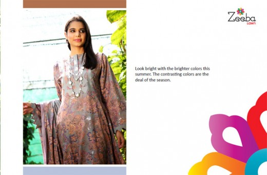 Women Zeeba Lawn Latest Collection - Zeeba Lawn Exhibition For Summer 2011-12