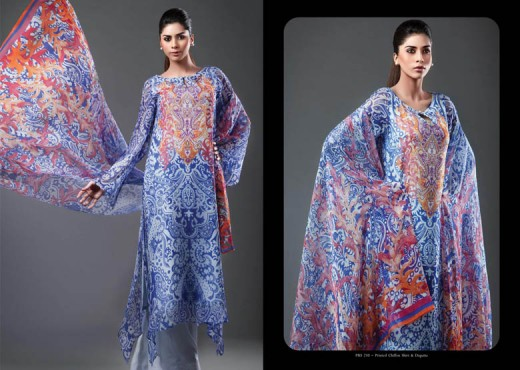kayseria Lawn Fantasy Design for Summer - Kayseria Lawn Prints Collection For Summer