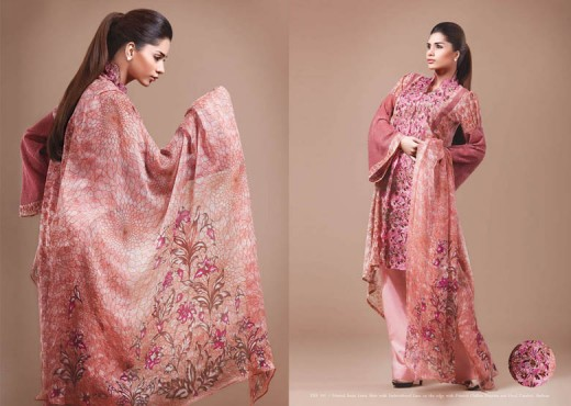 kayseria Spring Lawn Dress for 2011 - Kayseria Lawn Prints Collection For Summer