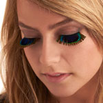 Peek of Peacock Eyelashes: Enhance Your Eyes Beauty