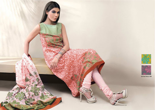 Al Karam Summer Lawn Complete Catalogue for 2012