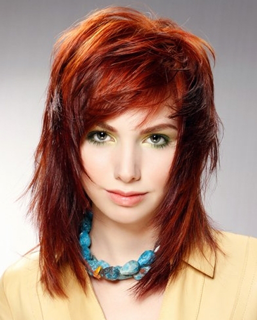 15+ Awesome Choppy Layered Hairstyles for 2012