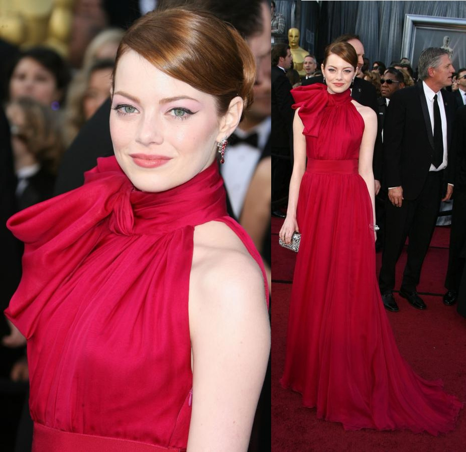 Dazzling Dresses Oscar Red Carpet 2012