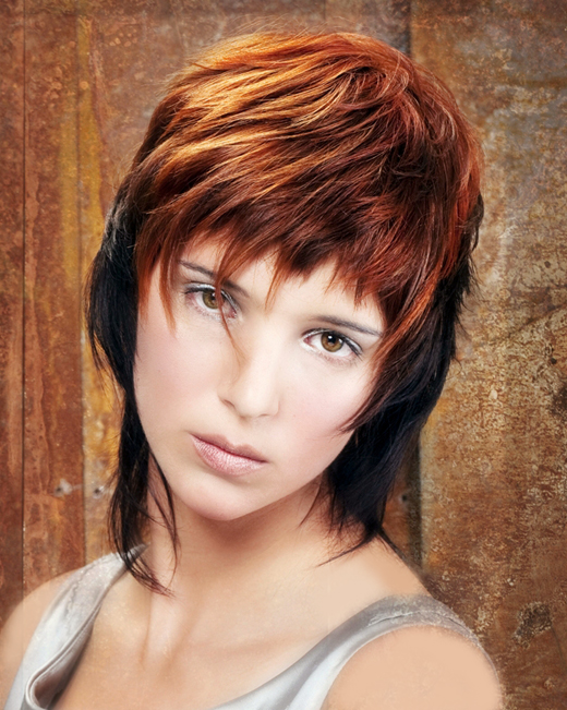 Ponytail Hairstyles 2012: Awesome Choppy Layered Hairstyles 2012