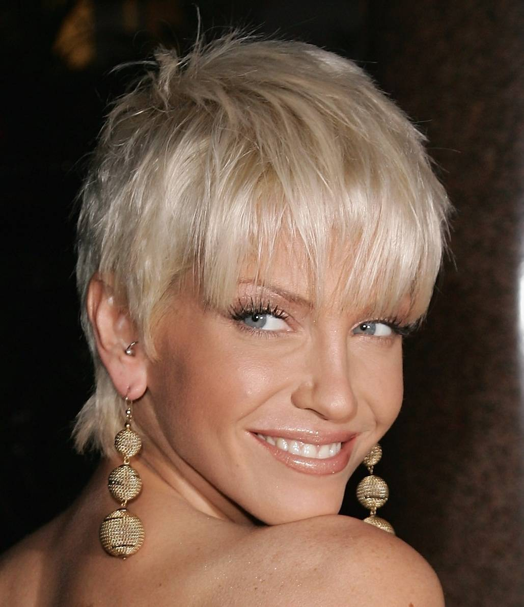 Awesome Round Face Short Hairstyles 2012 Awesome Round Face Hairstyle for 201