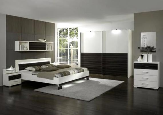 Awesome Bedroom Furniture Decorating Ideas Modern Brown