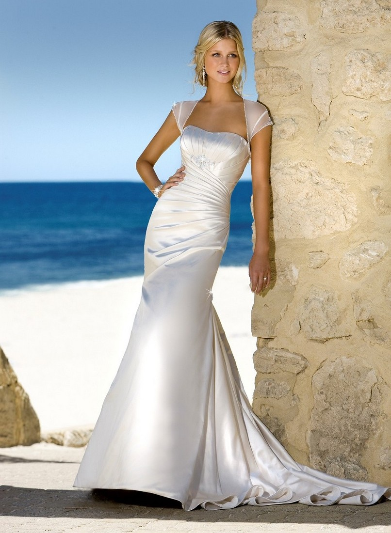 Summer Beach Wedding Dresses 2012 Beach Wedding Dress White Elegant Color For Women YusraBlog