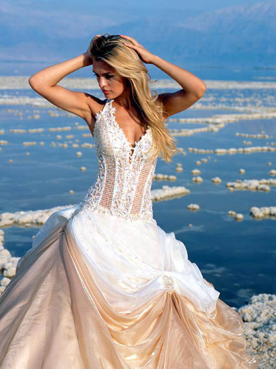 Summer Beach Wedding Dresses 2012