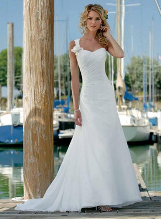 Summer Beach Wedding Dresses 2012 - YusraBlog.com