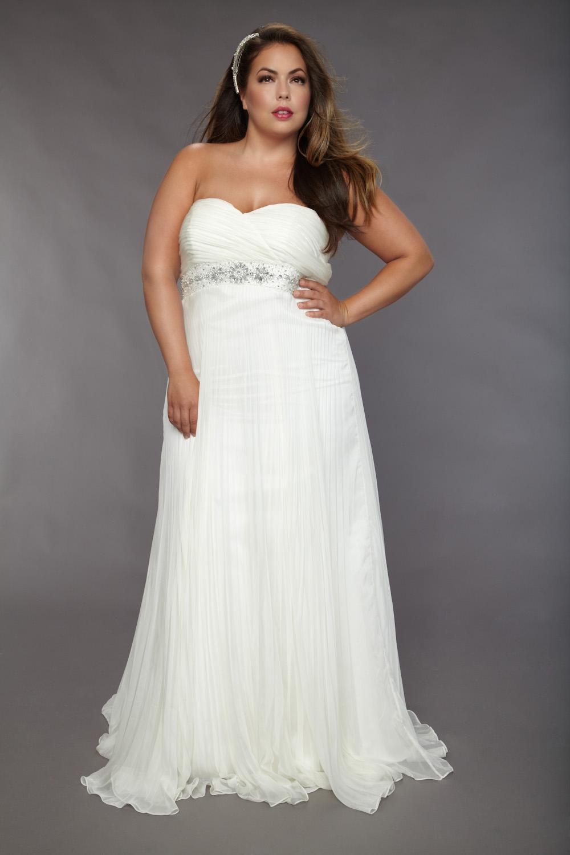 Plus Size Beach Wedding Dresses Picture Yusrablog Com