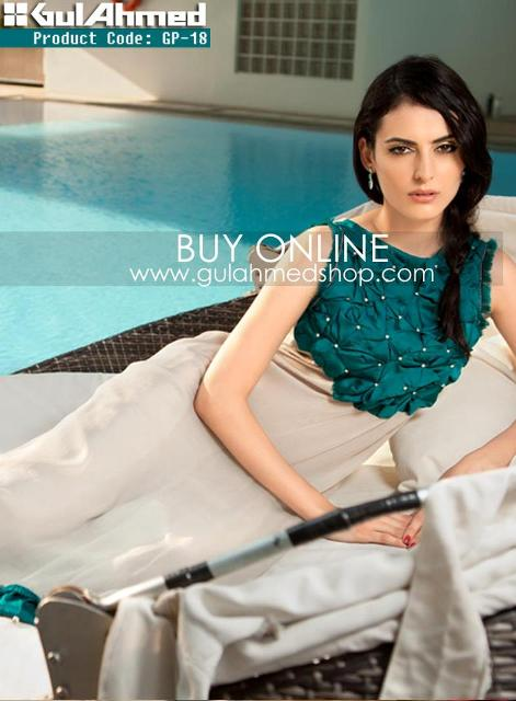 Latest Gul Ahmad G-Pret Eid Outfits 2012