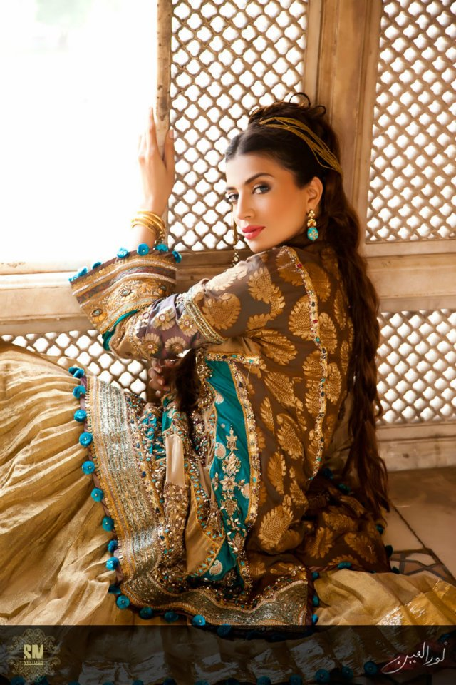 Beautiful Noor Ul Ain Summer Outfits 2012 By Saadia Mirza