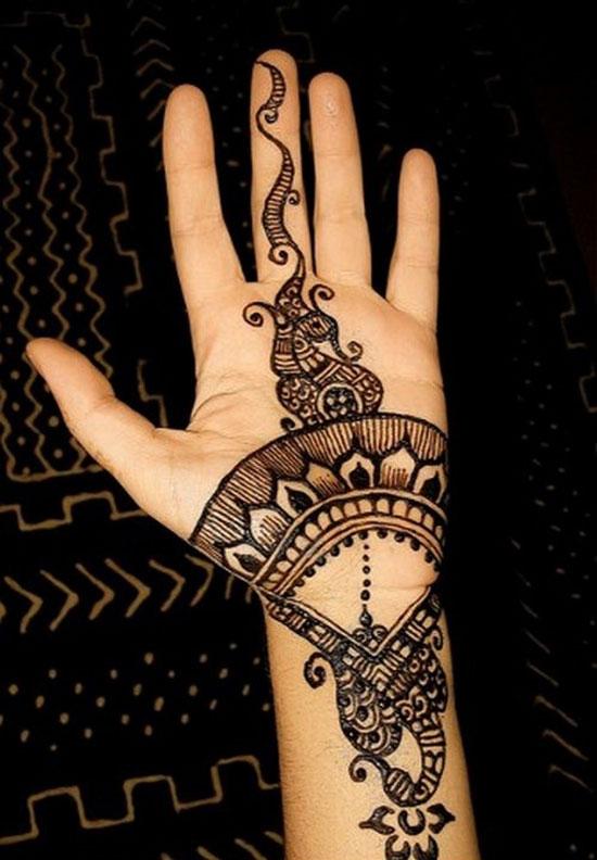 Beautiful Hand Mehndi Designs For Eid 2012 Yusrablog Com