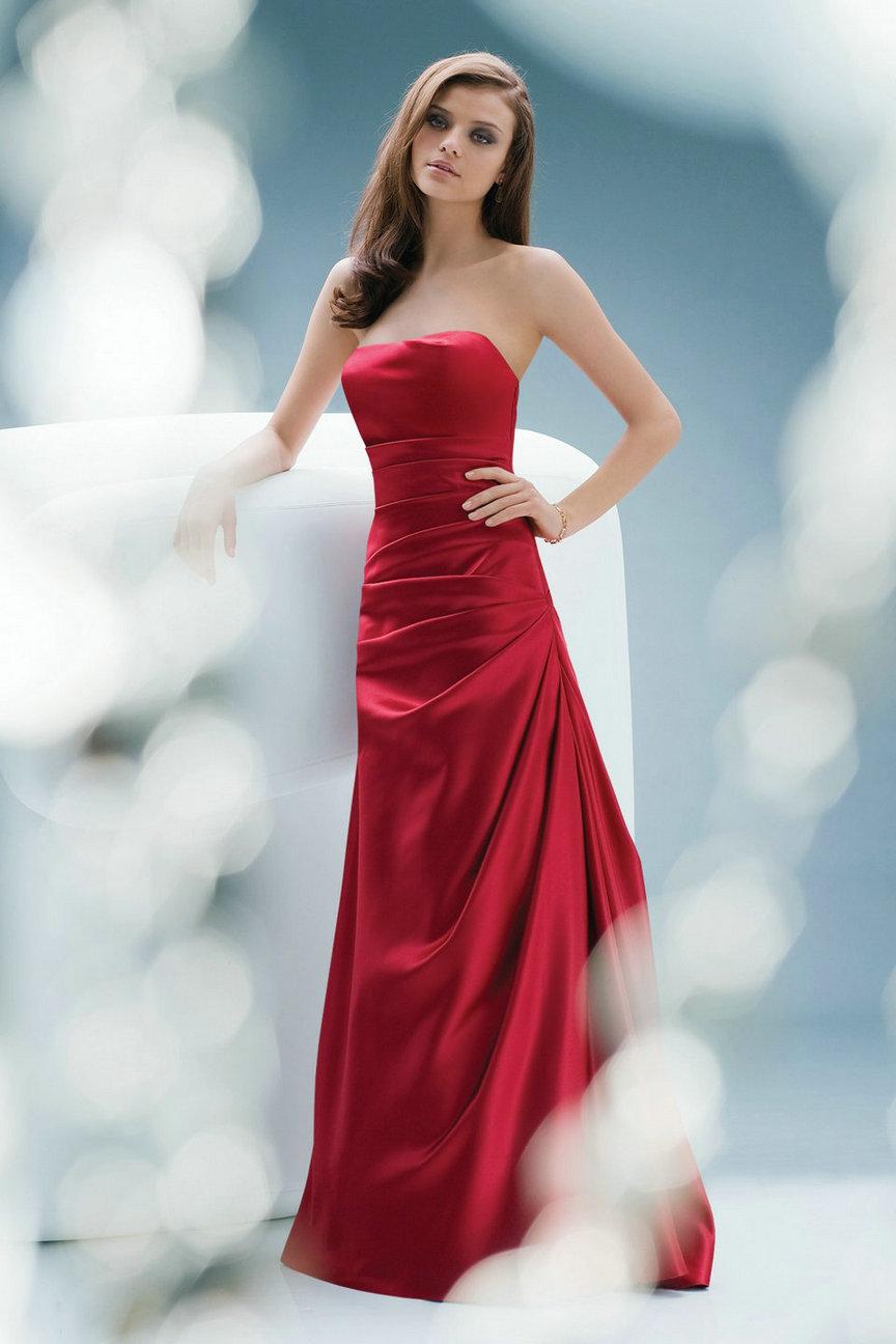 Красные платья на свадьбу фото 3