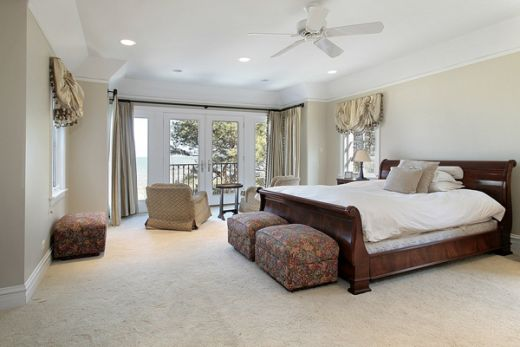 Bedroom painting ideas pictures for Brown paint bedroom ideas