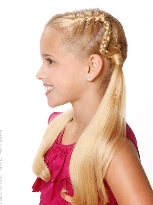 Little Girl Hairstyles for Summer | YusraBlog.com