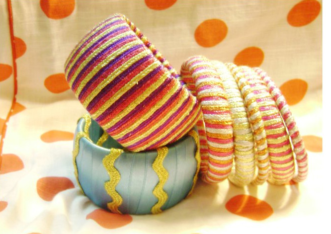 15 Latest and Stylish Handmade Bangles for Girls