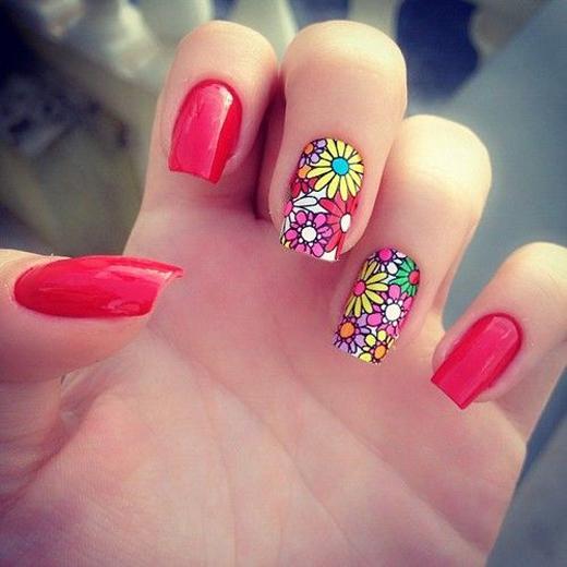 15 Eye Refreshing Summer Nail Art Designs 2014 Yusrablog