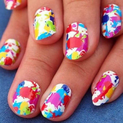 15 Cool Nail Art Designs: 15 Flabbergasting Nail Art Designs For Eid 2014