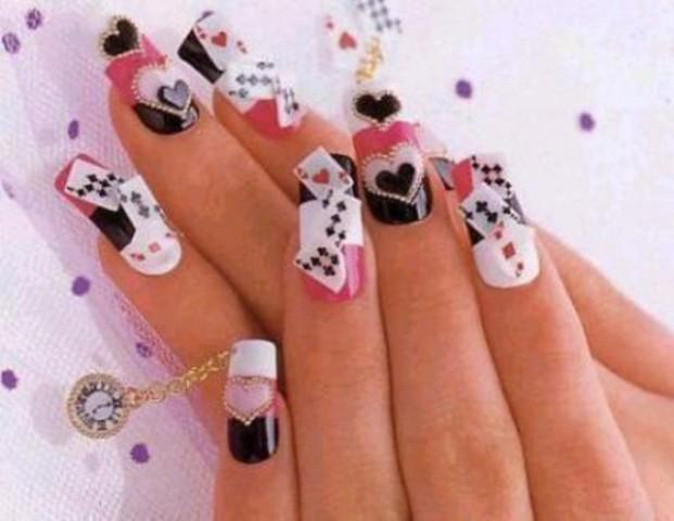 15 Flabbergasting Nail Art Designs for Eid 2014