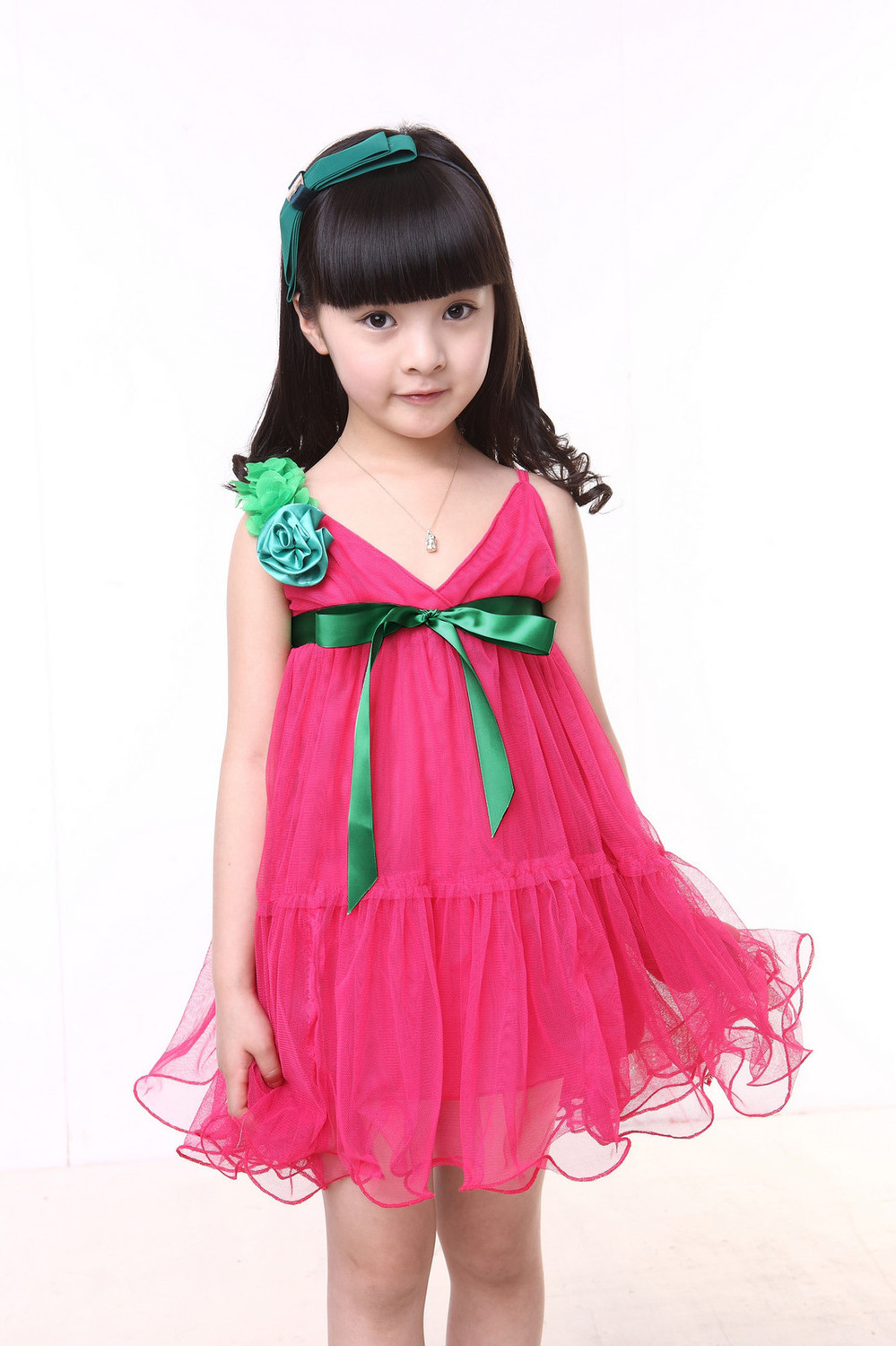 Latest Collection of Party Dresses For Kids 2014