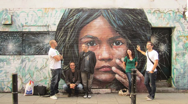 15 Creative European Street Art Ideas