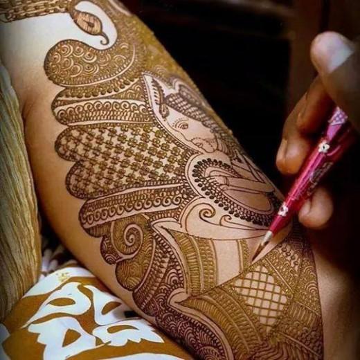 Spring Mehndi Designs
