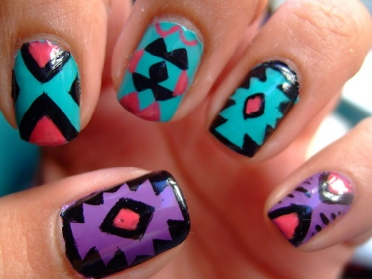 15 Inspirational Summer Nail Painting Ideas 2015