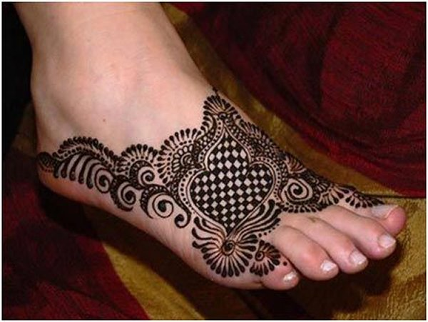 Mehndi Feet Images : Superlative feet mehndi designs for yusra