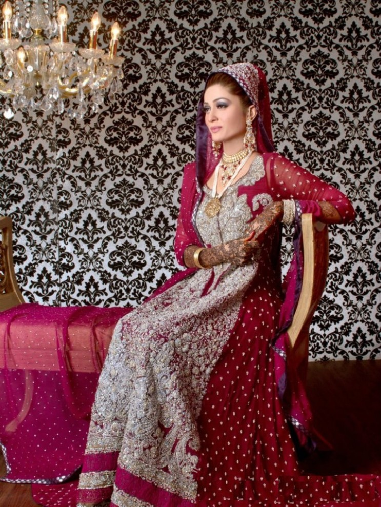 A Collection of Latest Pakistani Bridal Dresses 2015