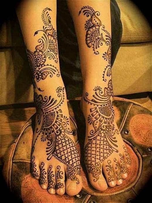 Mehndi Feet Designs 2016 : Easy and beautiful mehndi designs yusra