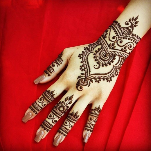 Cool Marital Mehndi Designs 2016 Picture