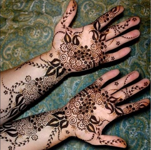 Cool Sepcial Mehndi Design for Kids 2016