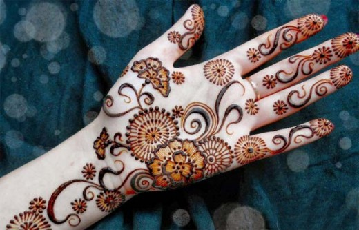 Fantastic Free Indian Mehandi Designs