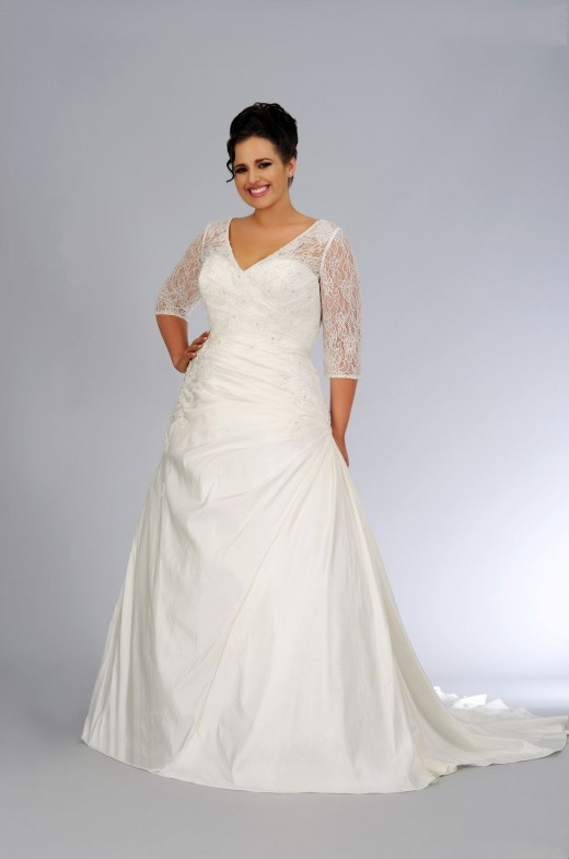 22 Beautiful Plus Size Wedding Dresses Yusrablog Com
