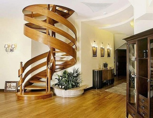 Gorgeous Wooden Handrail For Stairs 20 Beautiful Stair Designs